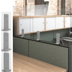 Enwork Skyline Cubicle Topper Privacy Screens Mounting Hardware