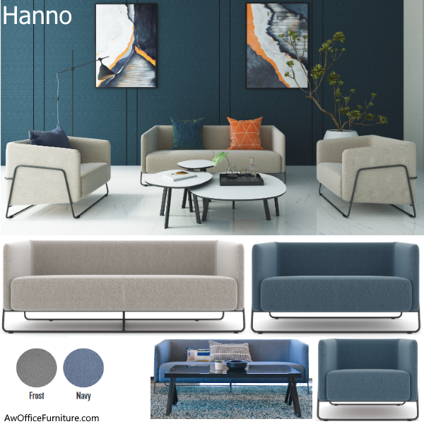 Hanno Seating Group - Contract Grade Reception Seating