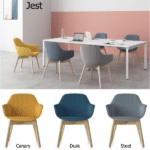 Friant Jest Guest or Conference Chairs - 3 Channeled Fabrics
