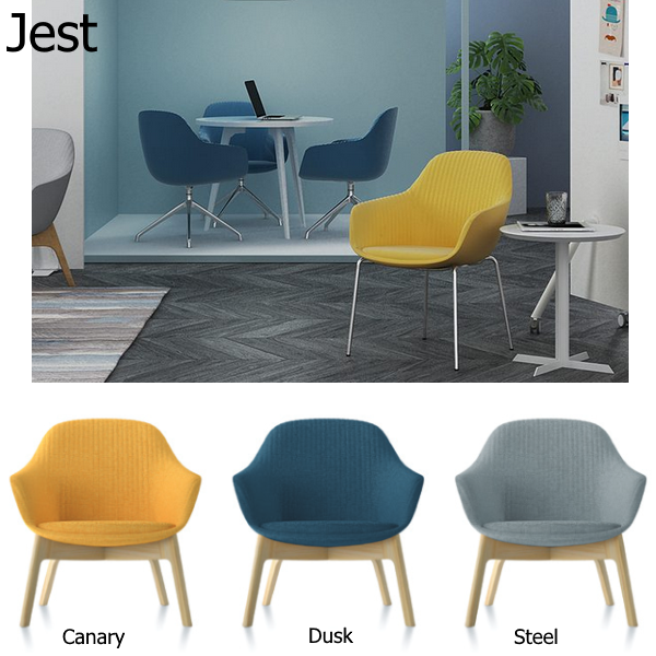 Friant Jest Lounge Seating - 3 Fabric Colors