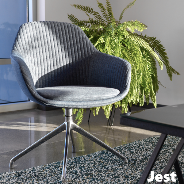 Jest Y-Leg Base Swivel Chair