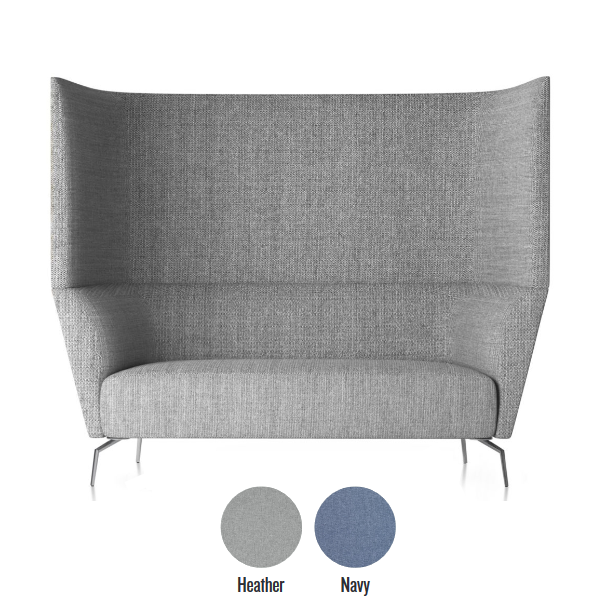 Friant Double High Back Privacy Seating