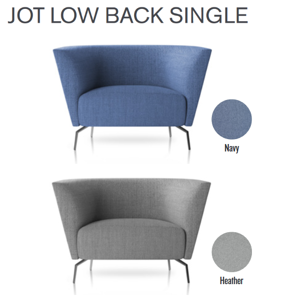 Jot Low Back Single Chair - Friant Seating