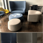 Jot Seating Collection with Single and Double Seater