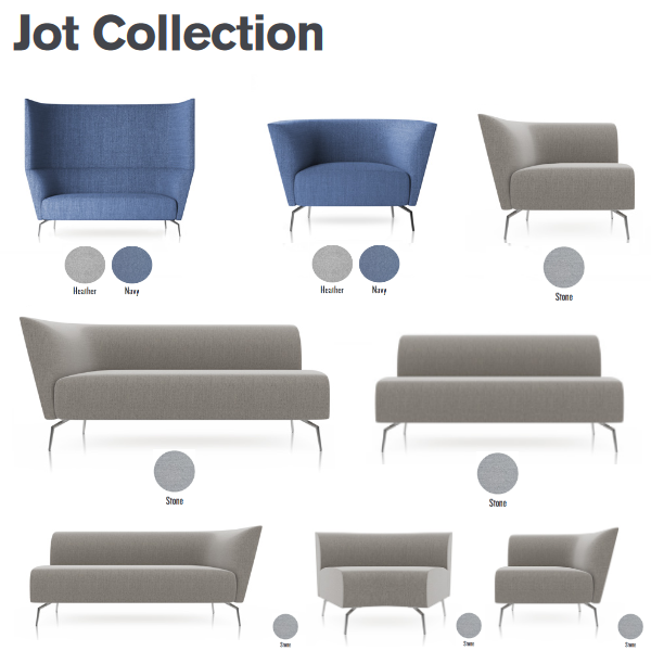 Jot Soft Seating Collection