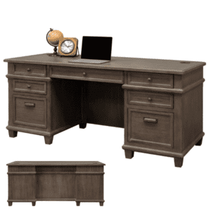 Monroe Double Pedestal Desk