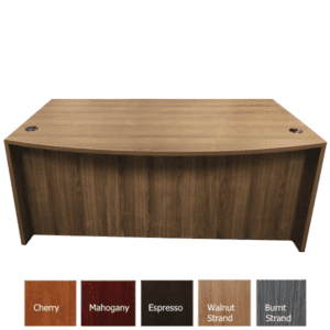 OFD189 Bow Front Desk - AW Office Furniture