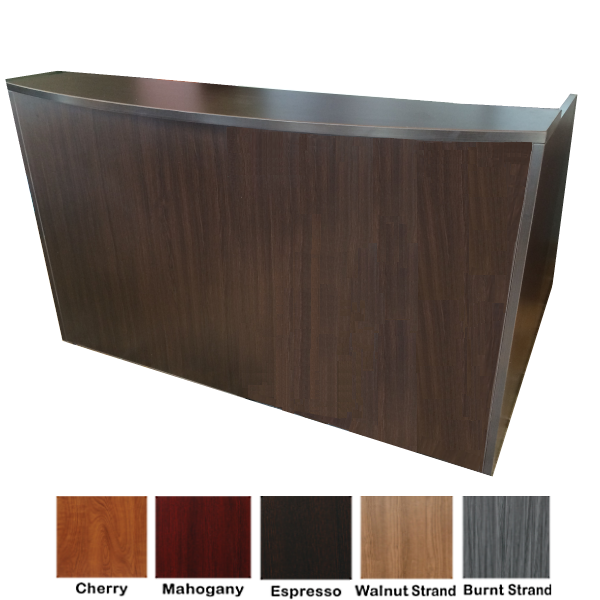 Espresso Finish Reception Desk OFD 169