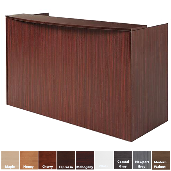 Performance Reception Desk in 9 Finish Colors