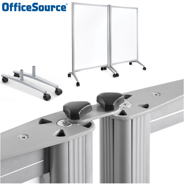 COE Office Source Double Mobile Magnetic White Board