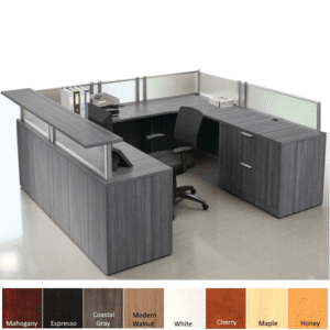 Office Source OSB19 Reception Desk