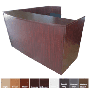PL169 Reception Desk & PL180 Reception Desk Return