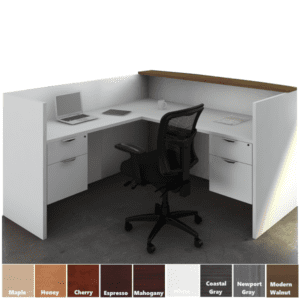 Office Source PL169 PL180 Reception Desk