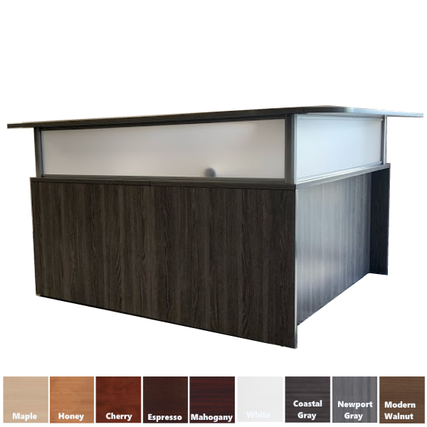 Performance Laminate Frosted Plexiglass Screens & Counters