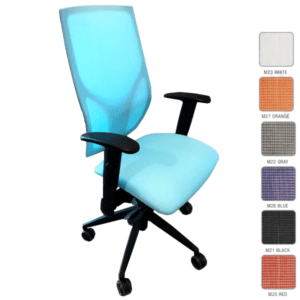 9 to 5 Vault Task Chair - Mesh Task Chair in 8 Mesh Colors - Higher Performance Seating