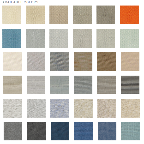 Burch Graded Panel Fabrics for Refurbished Cubicles
