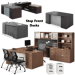 Step Front Series from Office Source Performance Laminate