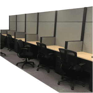 "Used Haworth Cubicles 80""H - Dallas Fort Worth Inventory - Thousands of stations available"