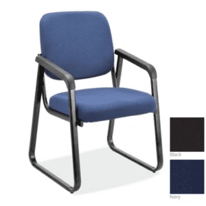2708 Blue Fabric Guest Chair