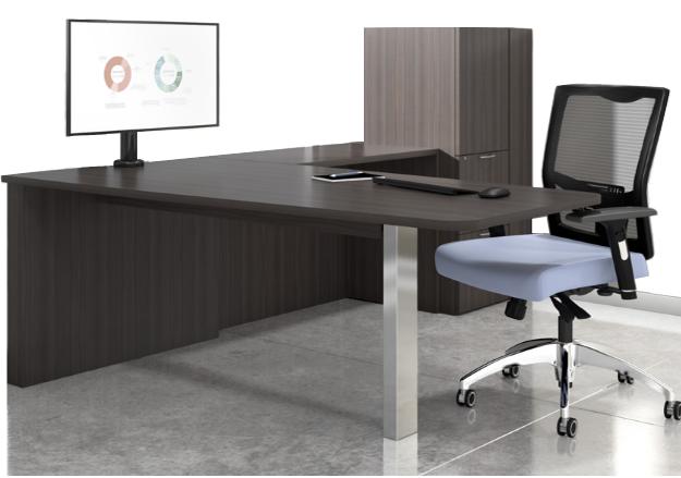 Canvas Media Peninsula Executive L-Desk