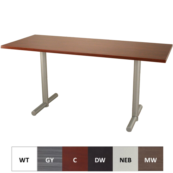 HTB Training Table with T-Leg Base