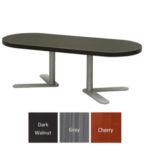 Express S659 Table - Reception Occasional Table - Dark Walnut