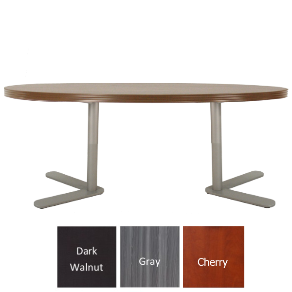 Express S659 Table - Reception Occasional Table - Modern Walnut