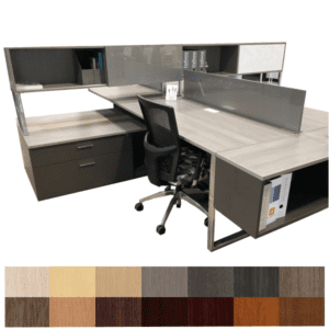Studio Benching Workstation from Indiana Furniture - Gesso Studio