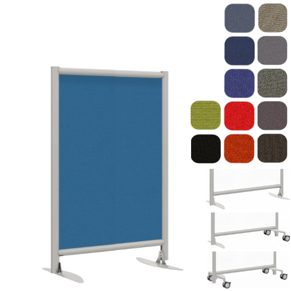 "30""W or 37""W x 54""H Fabric Partition Panel"