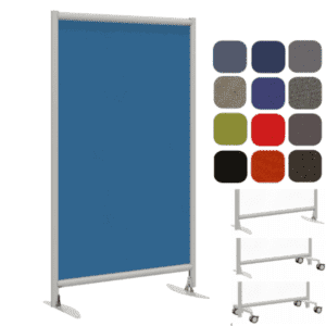 "T-Feet Base Fabric Panel - 72""H Panel"
