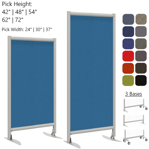 Mergeworks Villa Wall - 42H - 62H Wall Partition