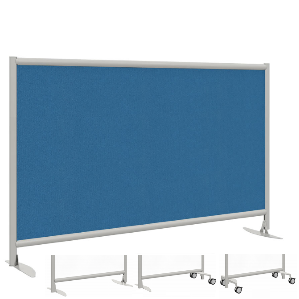 """42""""H Fabric Panel Room Divider - Mergeworks Privacy Dividers"""