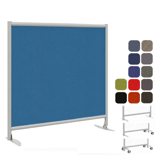 Freestanding Fabric Partition