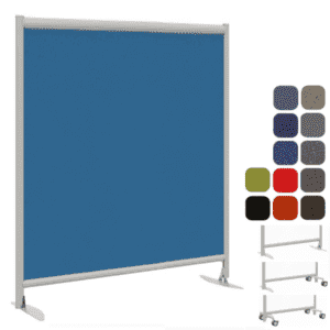"72""H x 49""W Freestanding Fabric Panel"