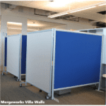 Modular Mobile Office Partitions