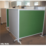 Freestanding Fabric Walls