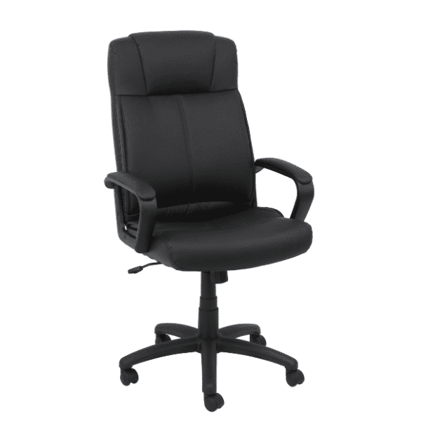 Values High Back Leather Office Chair