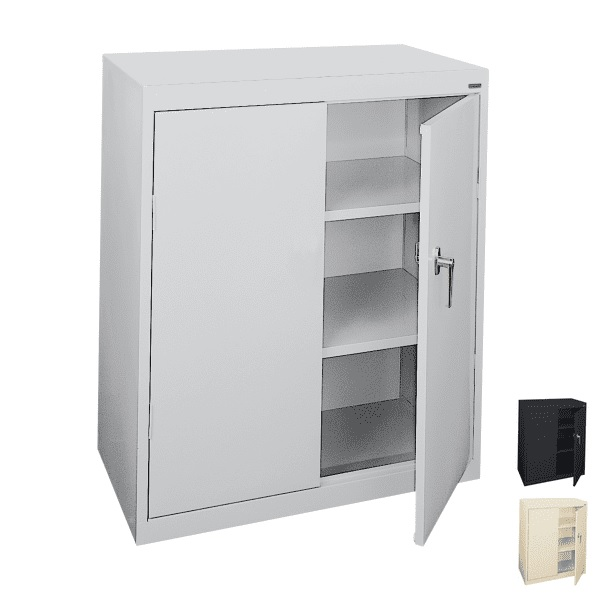 Counter Height Storage Cabinet | 3 Colors