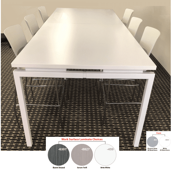 Bench iT U-Leg Standing Conference Table