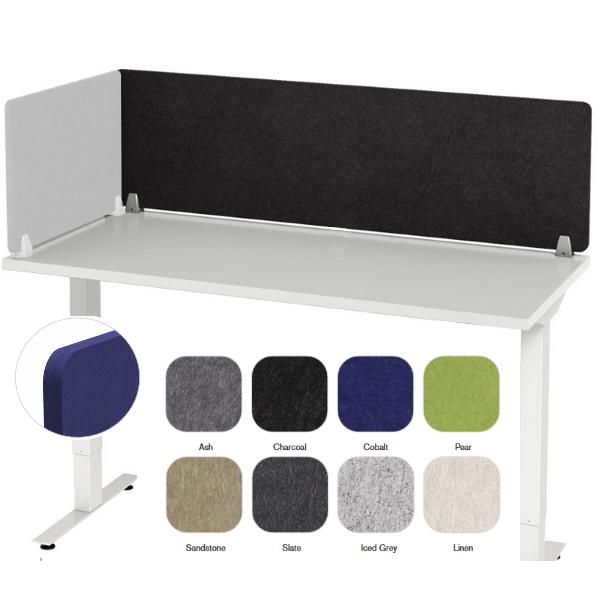 Enclave Acoustical Desk Panel   12 Sizes