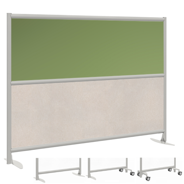 Colorful Urban Plexi Glass Panel with Acoustic Material