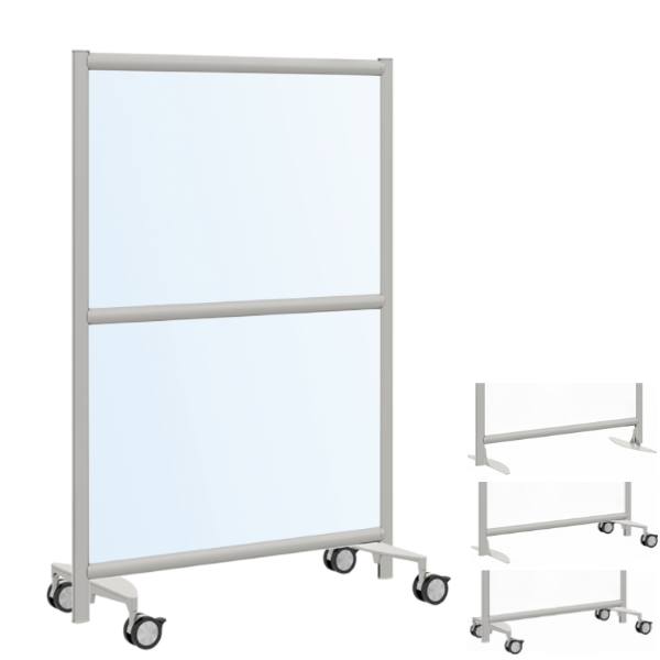 Mobile Acrylic Room Partition - 54