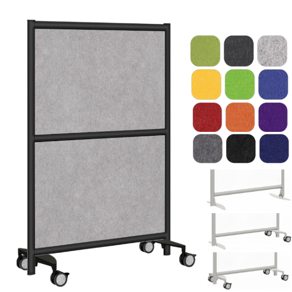 PET Fabric Acoustical Room Divider Panel