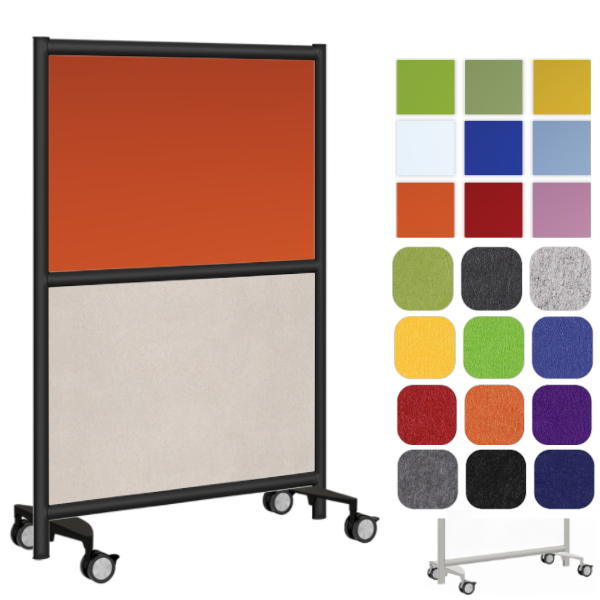 Colorful Acrylic Panel with Acoustical Base