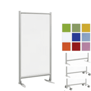 24W x 62H or 72H Freestanding Acrylic Panel