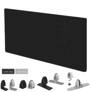 "Acoustical PET Sound Masking Desk Screen - 24""H"