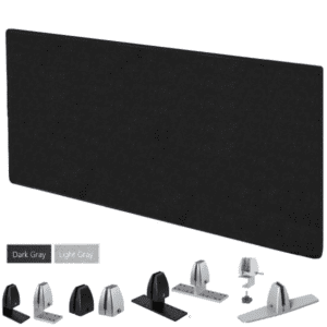 "24"" Tall x 66""W Acoustic Desk Panel"