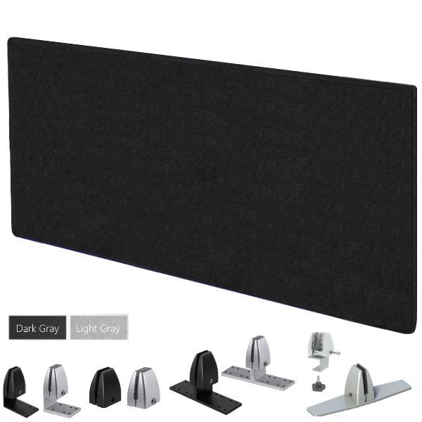 """24"""" Tall x 66""""W Acoustic Desk Panel"""