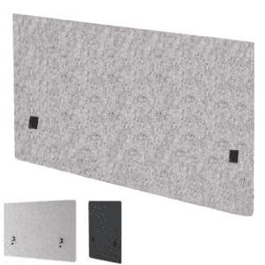 "30"" Tall Acoustic Desk Screen Panel Shield - Sound Proofing Material"