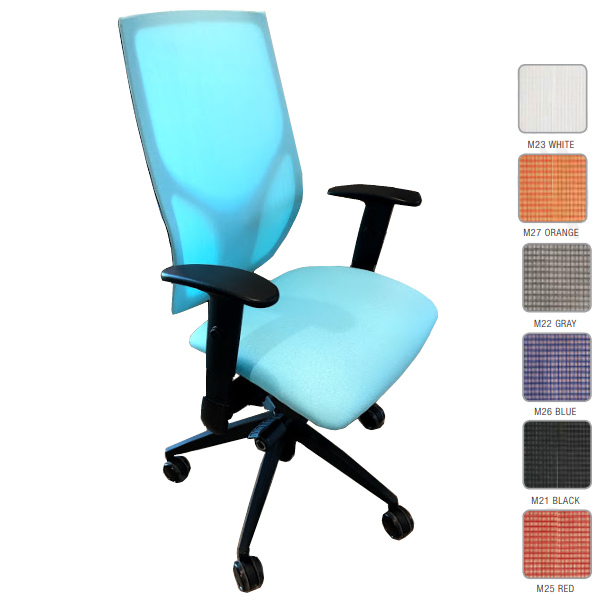 9to5 Seating Vault Mid Back Task Chair